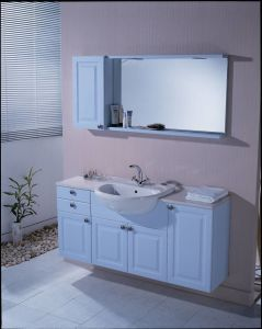 PVC Bathroom Vanity Cabinets with Side Cabinet