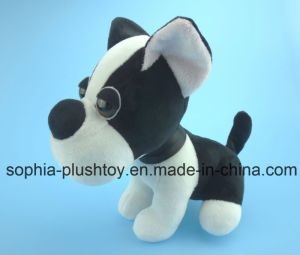 Stuffed Plush Dog Toy with Big Eyes pictures & photos