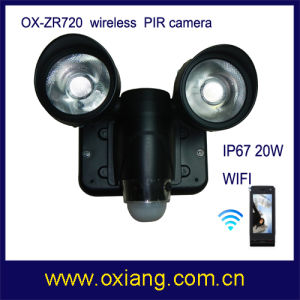 Original Factory WiFi PIR Light and Camera with Best Price pictures & photos