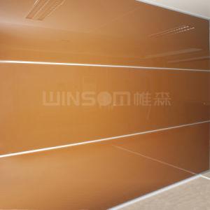 Glass Composite Honeycomb Panel Wall Decoration / Glaze Glass Curtain Wall