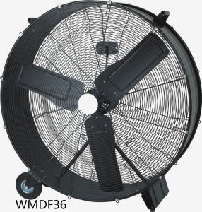 36 Inch High Velocity Belt Drive Drum Fan Floor Fan for Garage/Industrial/Commercial pictures & photos