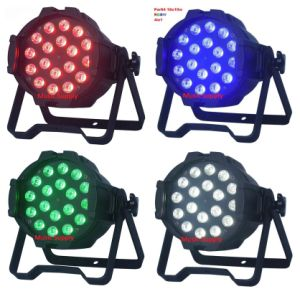 DMX512 Indoor 18*15W RGBWA UV 6 in 1 LED PAR Zoom pictures & photos