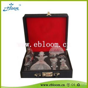 Luxurious Smoking Glass Hookahs with Suitcase Package (E-H0151)