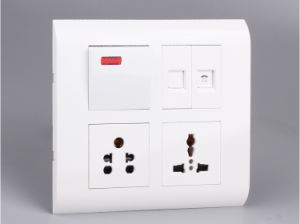 Red Indicator Switch Made of Ge PC, Energy Saving Switch pictures & photos