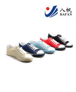 Men Fashion Casual Canvas Flat Running Travlling Shoes (bfm0382) pictures & photos