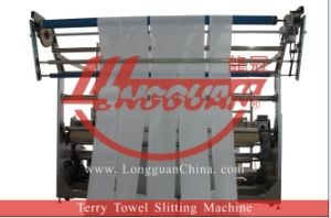 Automatic Terry Towel Slitting Machine pictures & photos