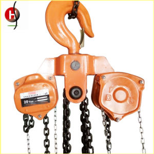 Strong Vital Type 20 Ton Hand Chain Block pictures & photos