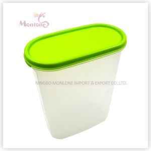 18*6*23cm Transparent Food Grade Plastic Food Storage Container Set pictures & photos
