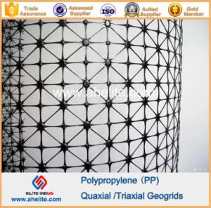 Plastic PP Polypropylene Triaxial Geogrids pictures & photos