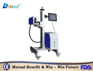 Cheap Dekcel 30W Coherent RF Metal Tube Flying CO2 Laser Marking Machine pictures & photos