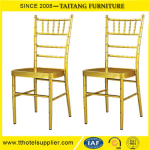 Stacking Wedding Banquet Used Metal Chiavari Chair pictures & photos
