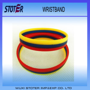 Custom Silicone Wristbands for Promotional Gift pictures & photos