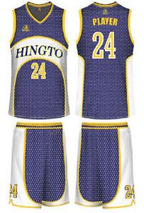 Wholesale School Mens Printed Basketball Jersey Uniform (UMBVS002)