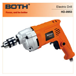 730W 2 Stage Gear Reducer Electric Drill (HD0953) pictures & photos