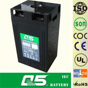 2V400AH AGM, Gel Rechargeable Battery Deep Cycle Solar Power Battery Rechargeable Power Battery Valve Regulated Lead Aicd Battery for Solar Power System pictures & photos
