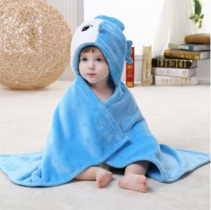 Super Soft Newborn Baby Flannel Blanket / Animal Shapes 3D Stereoscopic Cloak/ Fish pictures & photos