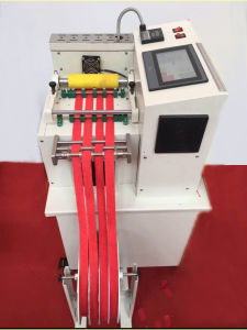 Automatic Computerized Hot Knife Strap Cutting Machine (ZH-17) pictures & photos