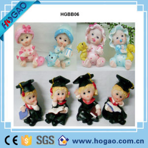Home Decor Birthday Gift Resin New-Born Baby Doll Figurine pictures & photos