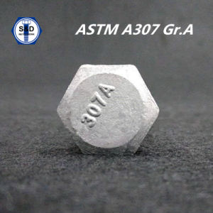 ASTM A307 Gradea Hex Bolt pictures & photos