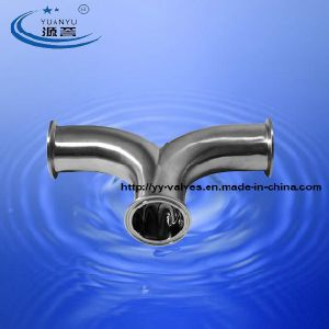 Triclamp Double Bend Sanitary Stainless Steel pictures & photos