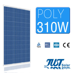 A Grade 310W Polycrystalline Solar Power Panel pictures & photos