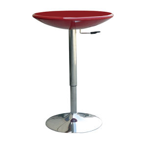 Chinese Furniture Modern Red Color Height Adjustable Bar Table (FS-204) pictures & photos