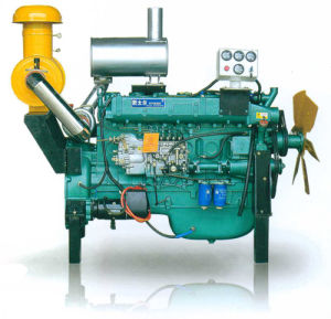 Direct Injection 6 Cylinders 6.43L Displacement 150kw Diesel Engine pictures & photos