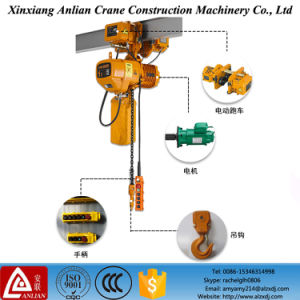 European Hot Sale Mini Electric Toyo Electric Chain Hoist pictures & photos
