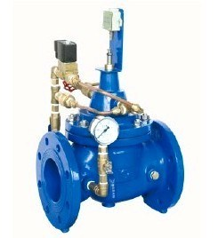 Ductile Iron Epoxy Coating Pump Control Valve pictures & photos