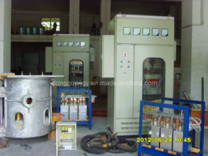 200kg Aluminum Melting Induction Melting Furnace (GY-SCR160KW) pictures & photos