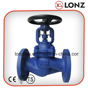 GS-C25 Wcb DIN Flanged Bellow Seal Globe Valve pictures & photos