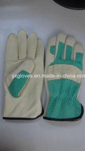 Leather Glove-Working Glove-Gloves-Safety Glove pictures & photos