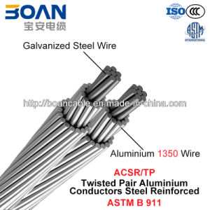 ACSR/Tp, ACSR Twisted Pair Conductor (ASTM B 911) pictures & photos
