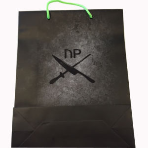 Shopping Paper Bag with Customized New Logo pictures & photos
