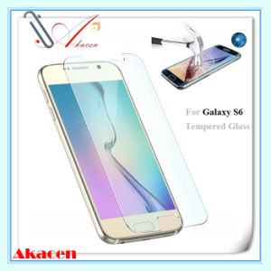 HD 9h Tempered Glass Screen Protector for Samsung Galaxy S6 G920 (Arc Edge)