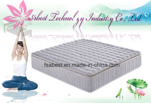 Spring Coil Mattress Full Size Vacuum Compress Mattress pictures & photos