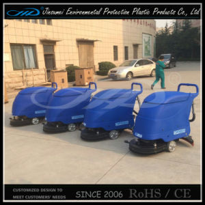 Rotaional Molding Plastic Floor Scrubber pictures & photos
