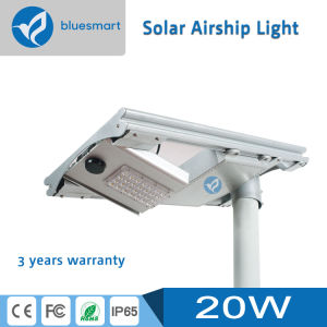 Bluesmart 20W All-in-One Solar Street LED Garden Street Light pictures & photos