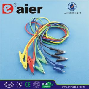 Wires with Alligator Clips/Alligator Clip Cable (WD1096W) pictures & photos