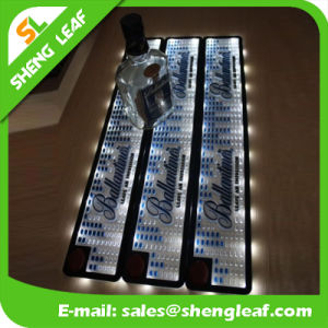 Custom Embossed Advertising Rubber PVC LED Bar Pad pictures & photos