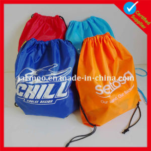 Nylon Cheap Polyester Drawstring Backpacks pictures & photos