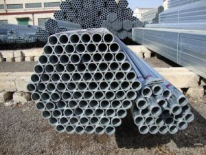ERW Q195 Black Welded Round Steel Pipe pictures & photos