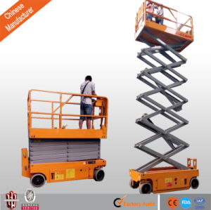 Aerial Working Platform Mobile Scissor Lift pictures & photos