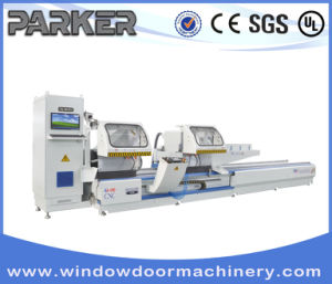 Aluminum 3 Axis CNC Double Head Cutting Machine for Window Door pictures & photos