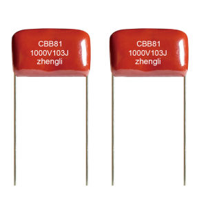 High Voltage Metallized Polypropylene Film Capacitor (Cbb81) pictures & photos