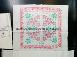 Embossing Printing Type Automatic Folding Napkin Tissue Paper Process Machine pictures & photos