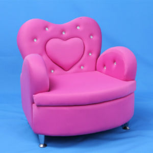Crystal Heart Children Sofa Furniture and Baby Chair (SF-199) pictures & photos