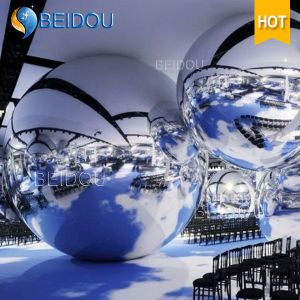 Festival Events Stage Decorative Gold Blue Mirror Balls Mini Disco Inflatable Mirror Ball pictures & photos
