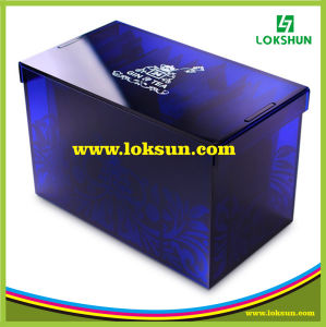 Top Grade Clear Plexiglass Gift Acrylic Display Case Box for Exhibition pictures & photos