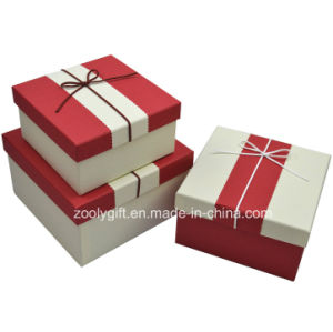 Quality Textured Art Paper Gift Box / Pop up Handmade Square Paper Gift Packing Box pictures & photos